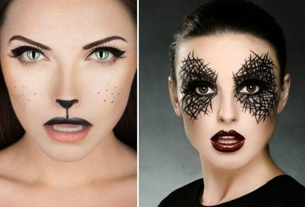 fasching schminken ideen karnevalskostüme