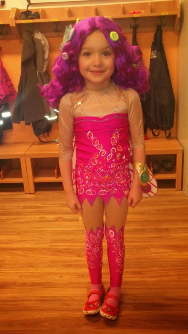 faschingskostüme ideen rosa karneval verkleidung
