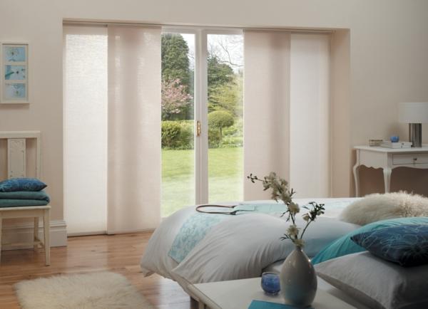 Sind Die Schiebegardinen Neue Moderne Fensterdeko