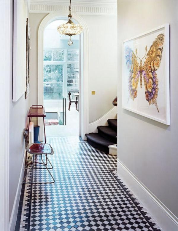 20 wohnideen f r sch ne farbgestaltung im flur. Black Bedroom Furniture Sets. Home Design Ideas