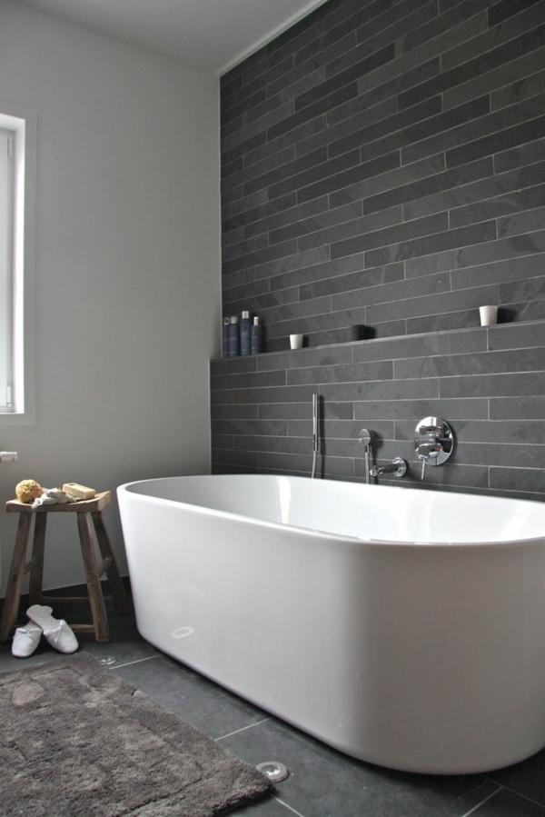 freistehende wanne auf dem boden badezimmer