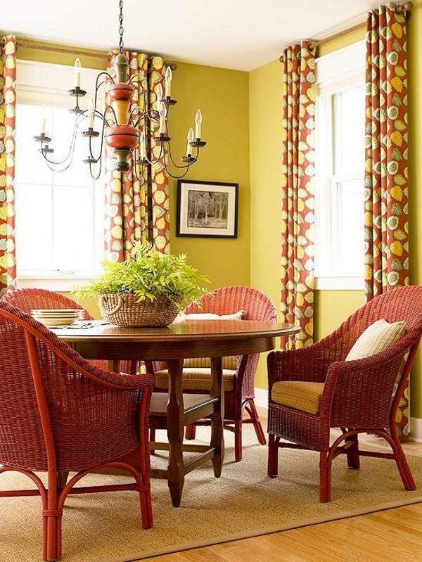 frische farbkombination ideen für wohnzimmer