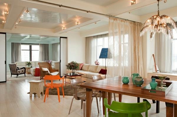 coole gardinen ideen f r sie 50 luftige designs f rs moderne zuhause. Black Bedroom Furniture Sets. Home Design Ideas