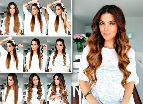 Frisuren für lockiges Haar - trendy Lockenfrisuren zum Nachmachen