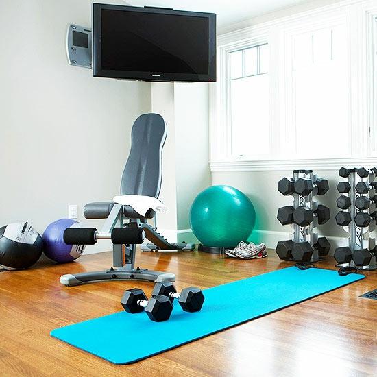 Fitnessraum im keller einrichten  Best Fitnessstudio Zuhause Einrichten Photos - Amazing Home Ideas ...