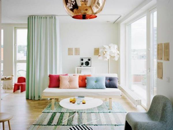vorhänge ideen für wohnzimmer | möbelideen - Wohnzimmer Ideen Vorhange