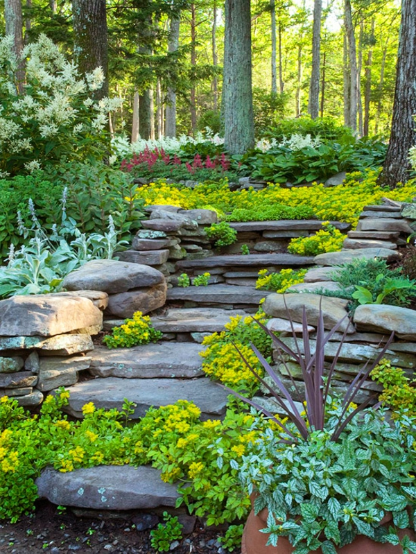 Landscaping Ideas For Shady Hillside : Gartengestaltung am hang wie k?nnen sie einen hanggarten