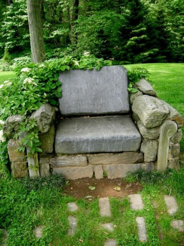 gartengestaltung mit steinen verkörpert die ewigkeit,