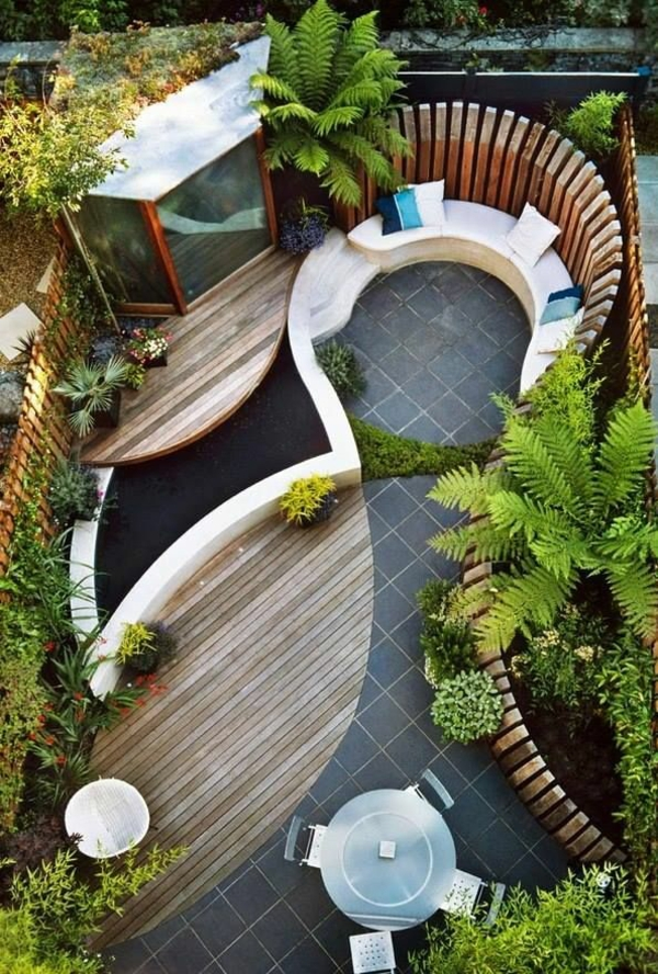 Ideen Fur Den Bodenbelag Im Garten ? Bitmoon.info Ideen Fur Die Gartengestaltung Frohlich