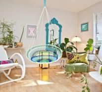 Schöne Gartengestaltung Ideen im Innenbereich