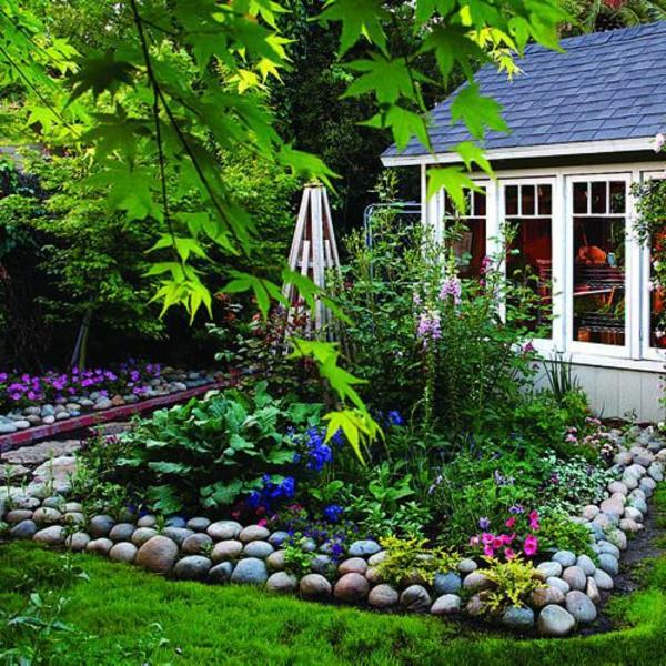 gartengestaltung mit steinen verkörpert die ewigkeit, Garten Ideen