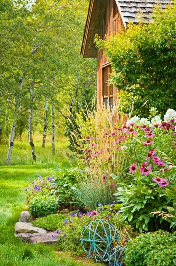 Ideen Anlegen Bilder Gartengestaltung Modern Grün üppig