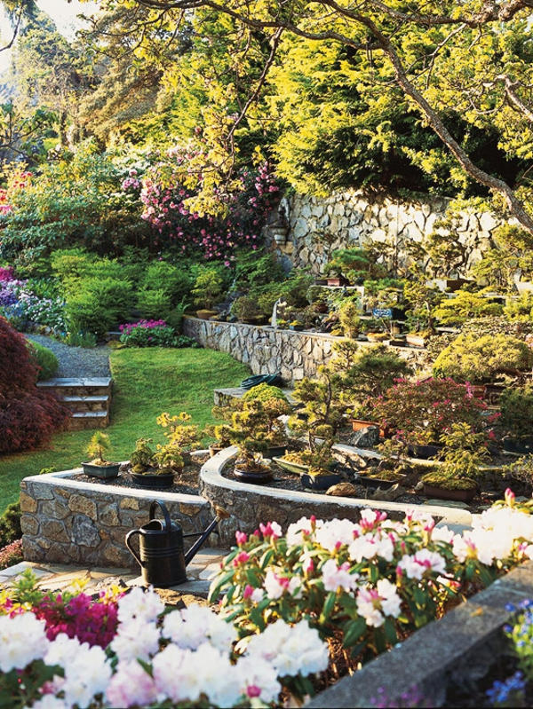 Gartengestaltung Am Hang Wie Konnen Sie Einen Hanggarten Gestalten