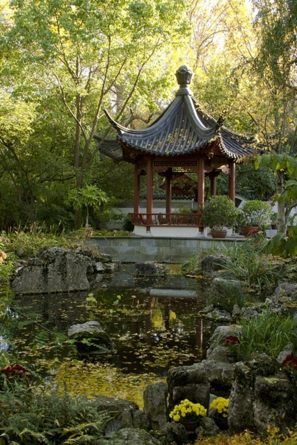 Gartenpavillon Holz Asiatisch ? Patrial.info Gartenlaube Aus Holz Gartenpavillon