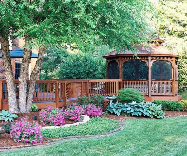 50 gartenlauben aus holz gartenpavillon selber bauen - Gartengestaltung pergola ...