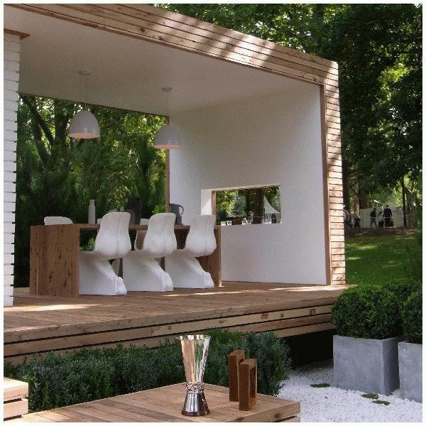 gartenbank aus holz modern 154434 eine. Black Bedroom Furniture Sets. Home Design Ideas