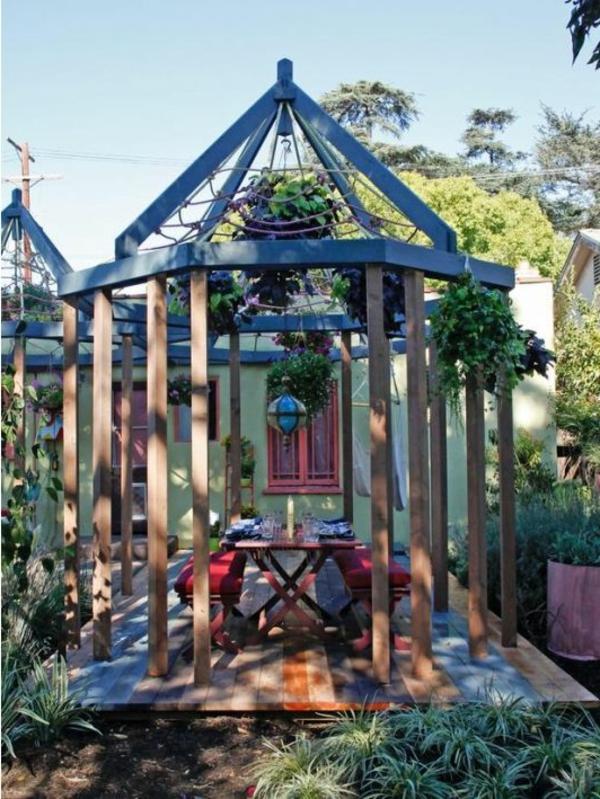 Gartenpavillon Pergola_14:23:40 ~ Egenis.com : Inspirierend Garten ... Gartenlaube Aus Holz Gartenpavillon