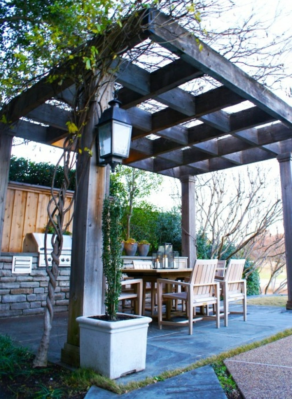 gartenpavillon-bauen-gartengestaltung-überdachung