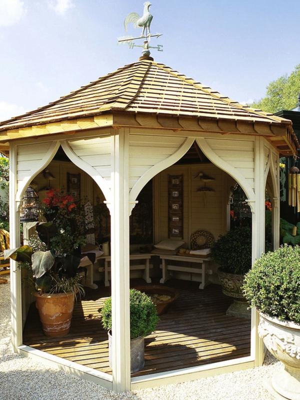 Willhaben Gartenmobel Neu : 50 Gartenlauben aus Holz  Gartenpavillon selber bauen