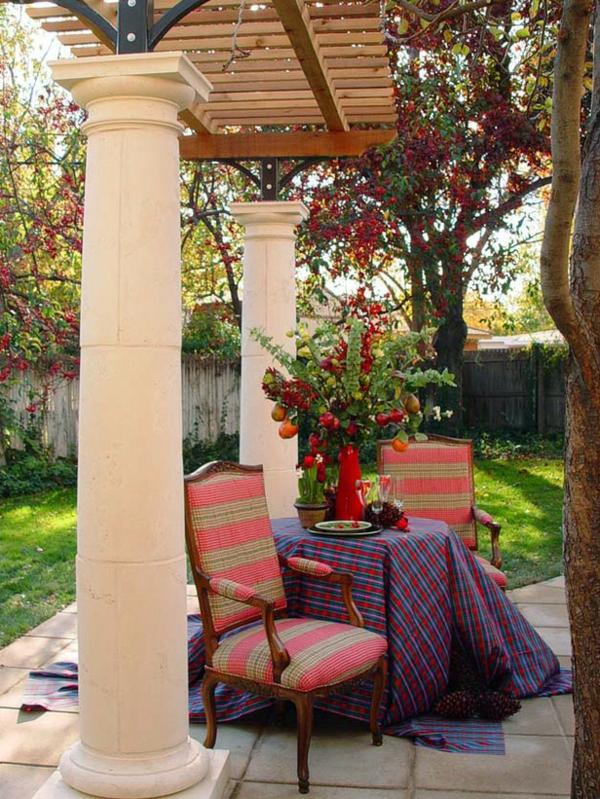 gartenpavillon holz selber machen. Black Bedroom Furniture Sets. Home Design Ideas