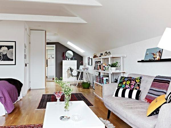 gemütliches appartement am dach kleiner raum