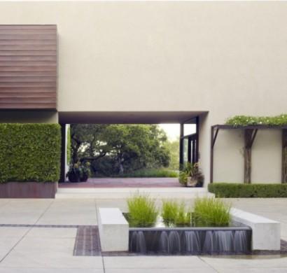 geometrisch bestimmte gartengestaltung ideen, Garten und Bauen