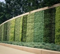Geometrisch bestimmte Gartengestaltung Ideen
