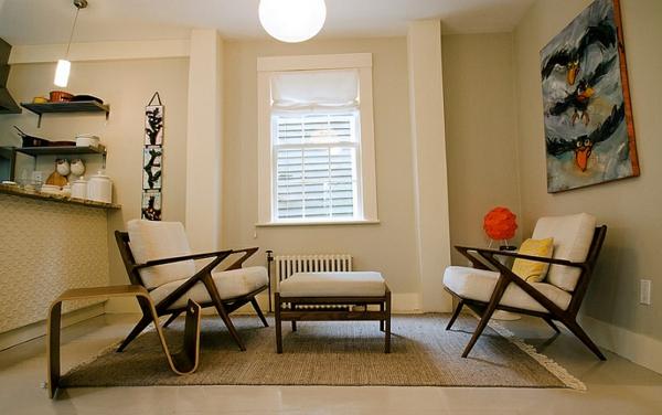 geschmeidig visuell effekt beistelltisch fenster wohnzimmer moderne Beistelltische