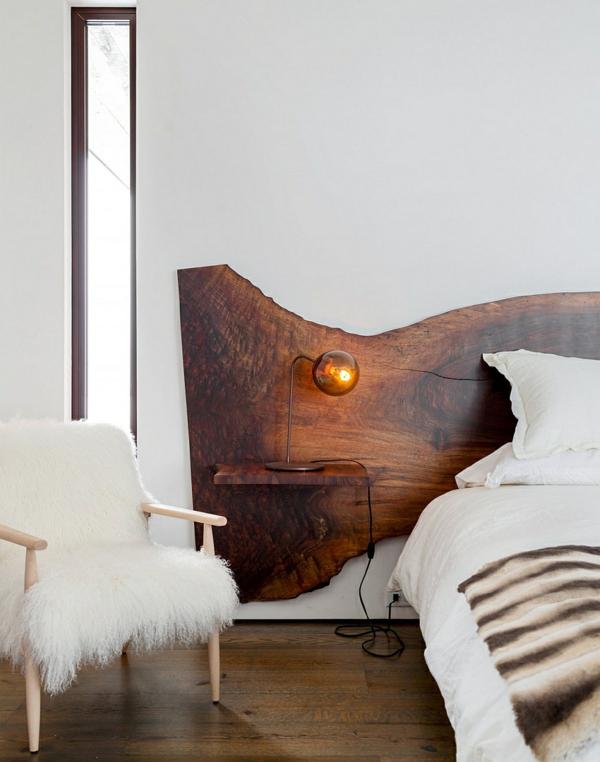 goldene akzente warme farbgestaltung schlafzimmer
