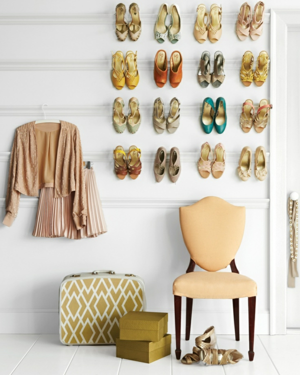 Ausgefallenes schuhregal selber bauen  Schuhregal selber bauen - 30 pfiffige DIY Ideen für Sie