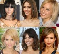 Frisuren für schulterlanges Haar lösen einen heißen Trend aus