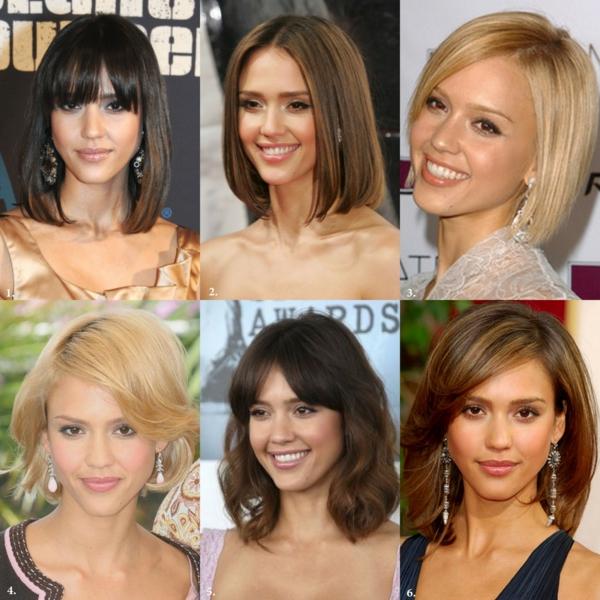 haarstyle trend frisuren für schulterlanges haar berühmtheiten