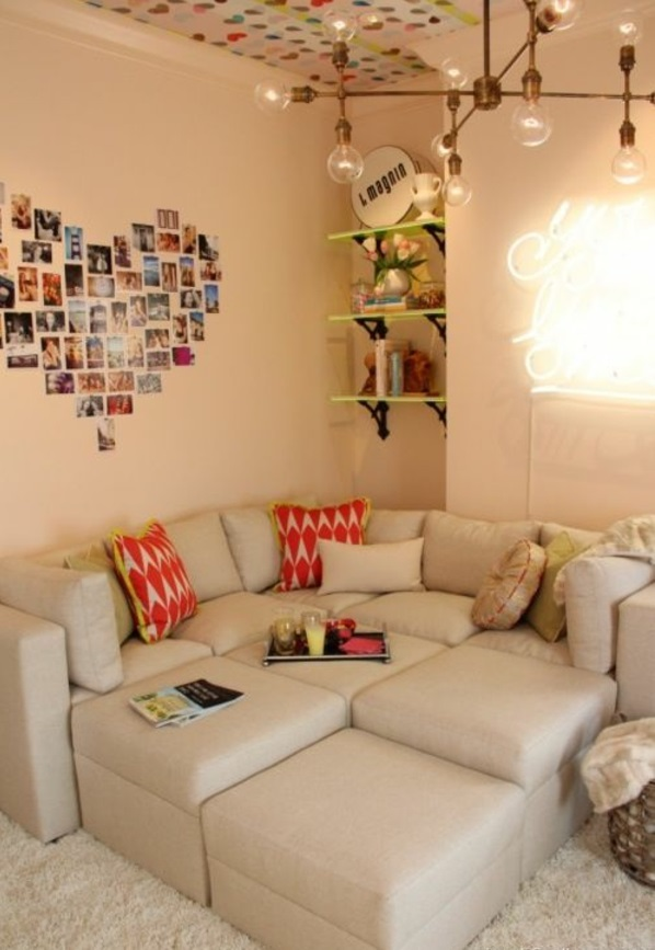 wandgestaltung jugendzimmer fotos. Black Bedroom Furniture Sets. Home Design Ideas