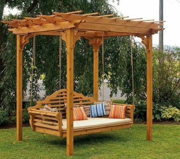 pergola selber bauen ideen bilder und anleitung. Black Bedroom Furniture Sets. Home Design Ideas