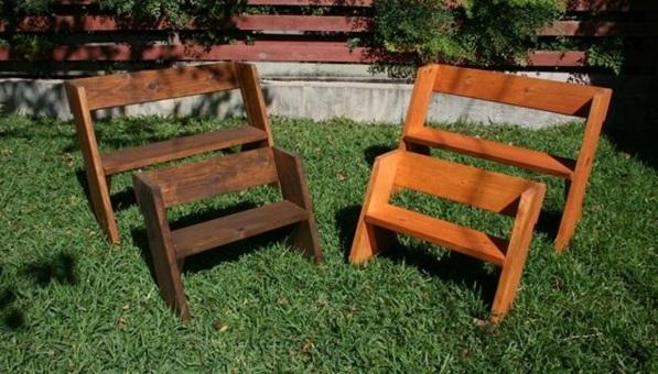 Holzbank Selber Bauen U2013 Gemütliche Sitzecke Für Ihren Garten ...