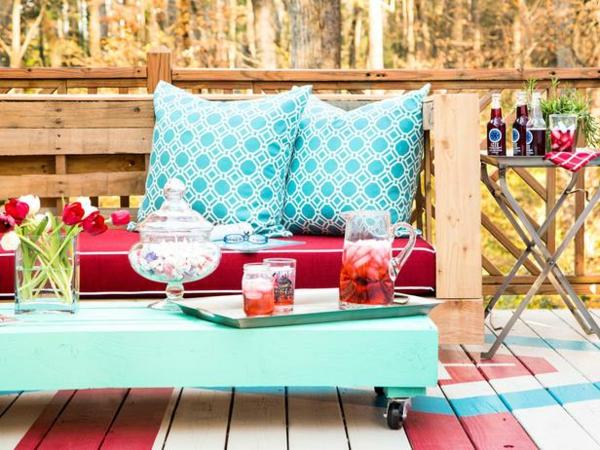 Gartenmobel Outlet Ludwigsburg : Holzbank selber bauen – gemütliche Sitzecke für Ihren Garten