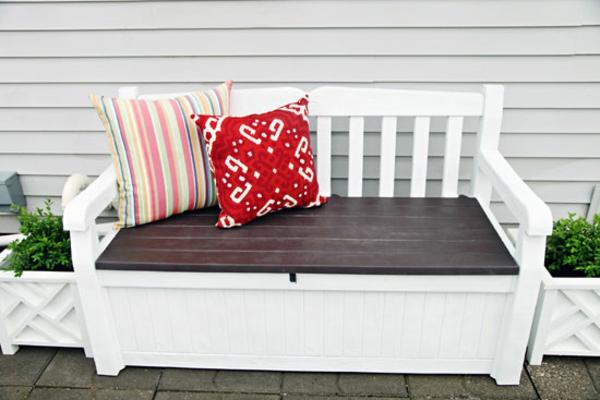 Holzbank Selber Bauen Mit Sandfüllung : Holzbank selber bauen – gemütliche Sitzecke für Ihren Garten