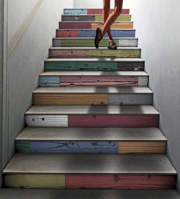 20 wunderbare designideen f r treppenhaus. Black Bedroom Furniture Sets. Home Design Ideas