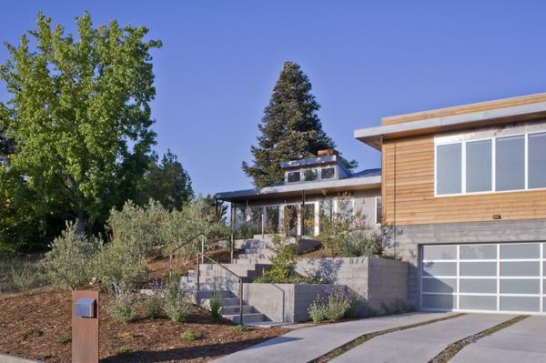 ideen für design briefkasten moderne architektur vorgarten hauseingang