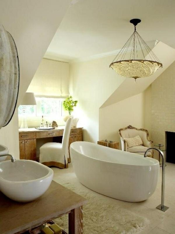 Ideen Für Inneneinrichtung Badezimmer Gestaltung Freistehende Wanne