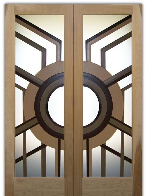 innentüren aus glas holz formen
