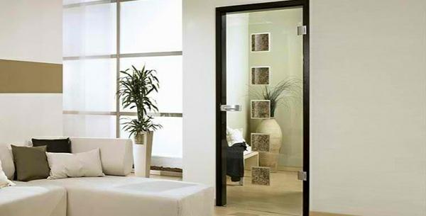 innentüren aus glas modern design