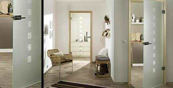 Zimmertüren glas  Innentüren aus Glas - moderne, ästhetische Glastüren