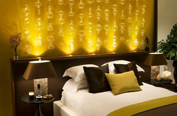 Beleuchtung Ideen Schlafzimmer Warme Farben