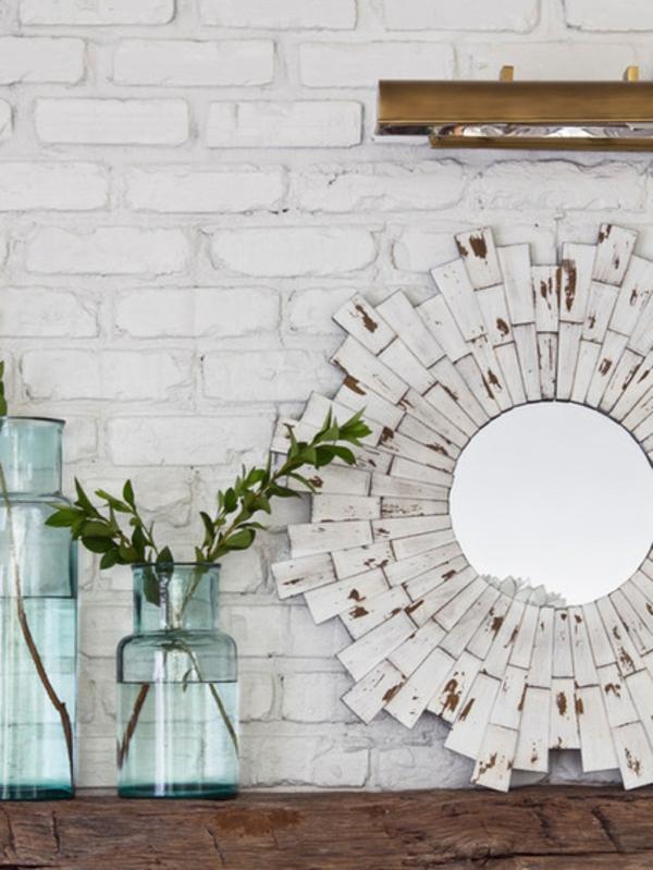 interior design ideen vase mit pflanzen