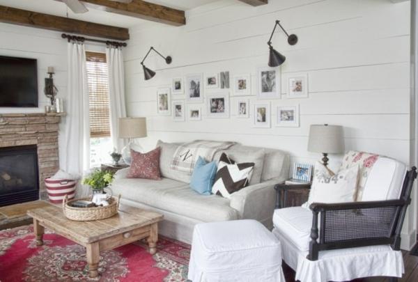 interior design wohnzimmer wandgestaltung bilder