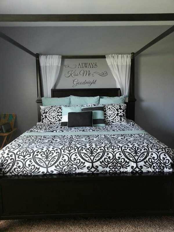 intime schlafzimmergestaltung ideen bett