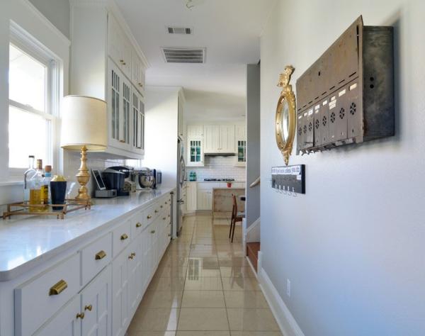 küche einrichten stauraum ideen wohnideen deko briefkasten