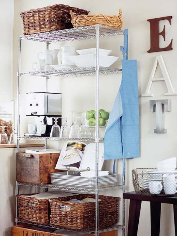 Stauraum Ideen und kreative Wohnideen - Drahtregale für jeden Raum