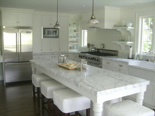 küstennah moderne weiße küchen einrichten möbel